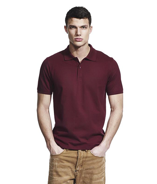 Mens Slim Cut jersey polo